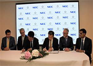 Star Alliance NEC Partnership Signing